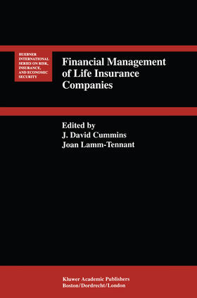 Lamm-Tennant / Cummins | Financial Management of Life Insurance Companies | Buch | sack.de