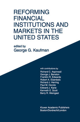 Kaufman | Reforming Financial Institutions and Markets in the United States | Buch | sack.de