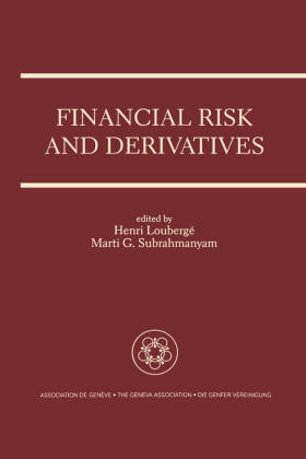 Loubergé / Subrahmanyam | Financial Risk and Derivatives | Buch | sack.de