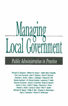 Bingham | Managing Local Government | Buch | sack.de