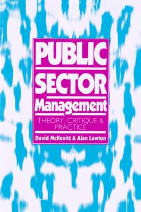 Lawton / McKevitt   Public Sector Management   Buch   sack.de
