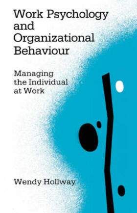 Hollway | Work Psychology and Organizational Behaviour | Buch | sack.de