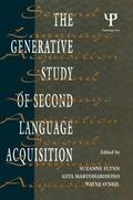 Flynn / Martohardjono / O'Neil |  The Generative Study of Second Language Acquisition | Buch |  Sack Fachmedien