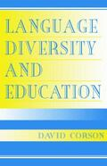 Corson |  Language Diversity and Education | Buch |  Sack Fachmedien