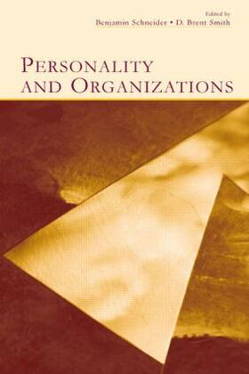 Schneider / Smith | Personality and Organizations | Buch | sack.de