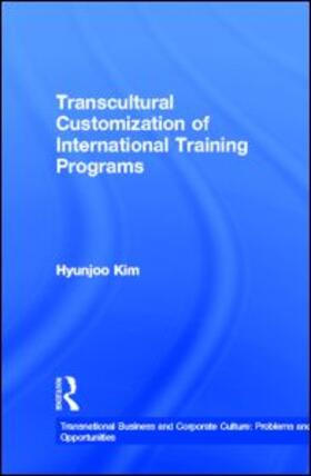Kim | Transcultural Customization of International Training Programs | Buch | sack.de