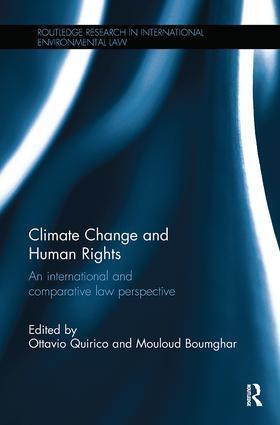 Quirico / Boumghar | Climate Change and Human Rights | Buch | sack.de