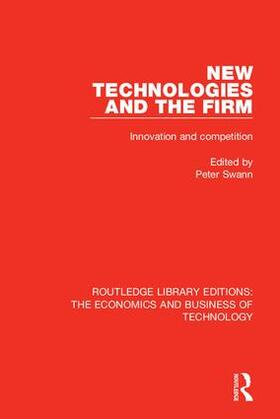 Swann | New Technologies and the Firm | Buch | sack.de