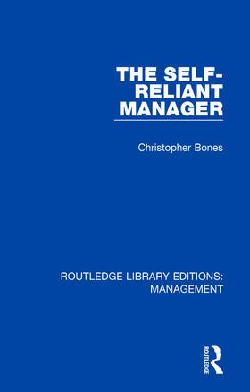 Bones | The Self-Reliant Manager | Buch | sack.de
