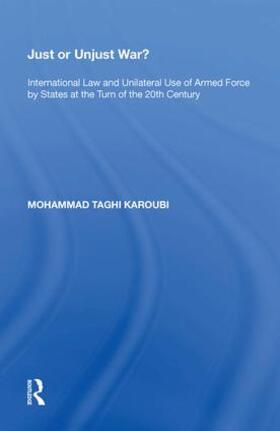 Karoubi | Just or Unjust War? | Buch | sack.de