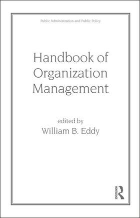 Eddy | Handbook of Organization Management | Buch | sack.de