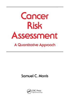 Morris | Cancer Risk Assessment | Buch | sack.de