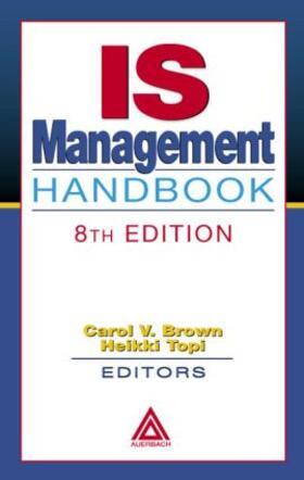 Topi / Brown   IS Management Handbook   Buch   sack.de
