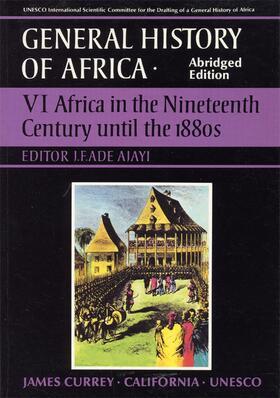 Ajayi | General History of Africa volume 6 [pbk abridged] | Buch | sack.de