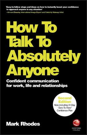 Rhodes | How To Talk To Absolutely Anyone | Buch | sack.de