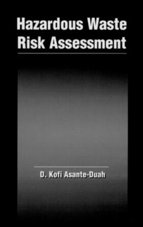 Asante-Duah | Hazardous Waste Risk Assessment | Buch | sack.de