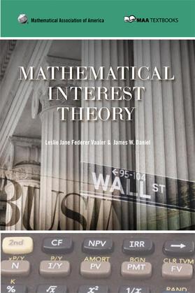 Vaaler / Daniel | Mathematical Interest Theory | Buch | sack.de