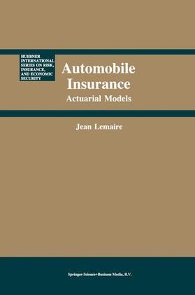Lemaire   Automobile Insurance   Buch   sack.de