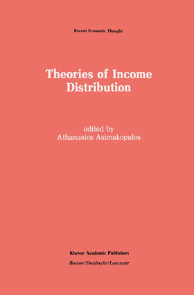 Asimakopulos   Theories of Income Distribution   Buch   sack.de