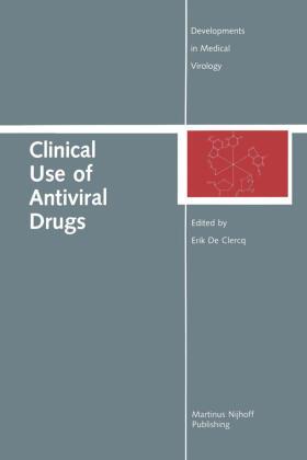 de Clercq | Clinical Use of Antiviral Drugs | Buch | sack.de