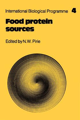 Pirie | Food Protein Sources | Buch | sack.de
