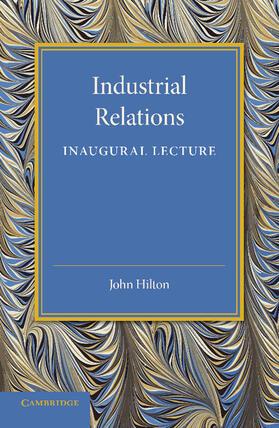 Industrial Relations | Buch | sack.de