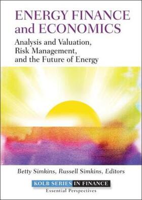 Simkins / Simkins | Energy Finance and Economics | Buch | sack.de
