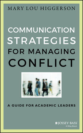 Higgerson | Communication Strategies for Managing Conflict | Buch | sack.de