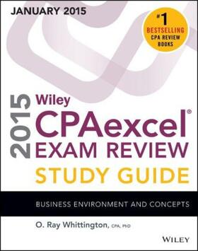 Whittington | Wiley CPAexcel Exam Review 2015 Study Guide (January) | Buch | sack.de