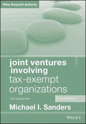 Sanders | Joint Ventures Involving Tax-Exempt Organizations | Buch | sack.de