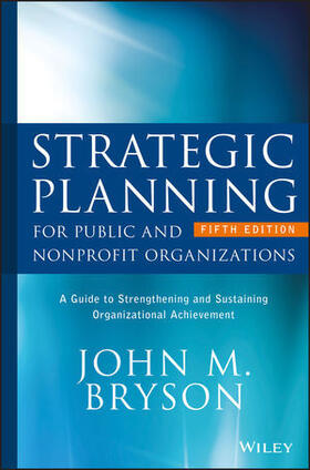 Bryson | Strategic Planning for Public and Nonprofit Organizations | Buch | sack.de
