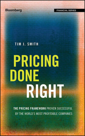 Smith | Pricing Done Right | Buch | sack.de