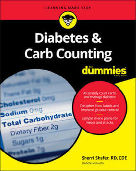 Shafer   Diabetes and Carb Counting For Dummies   Buch   sack.de