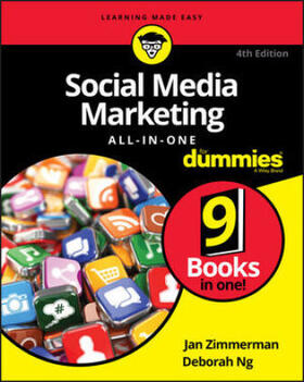 Zimmerman / Ng | Social Media Marketing All-in-One For Dummies | Buch | sack.de