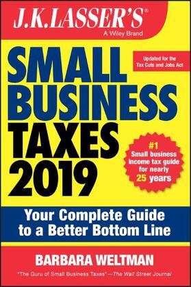 Weltman   J.K. Lasser's Small Business Taxes 2019   Buch   sack.de