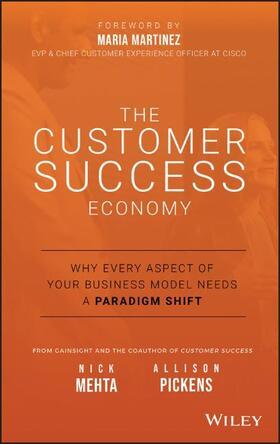 Mehta / Pickens   The Customer Success Economy   Buch   sack.de