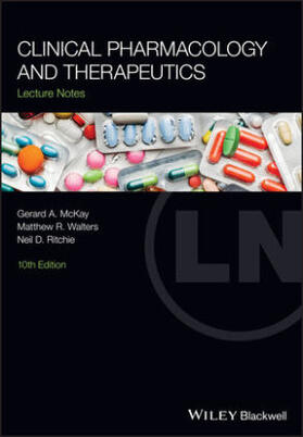 McKay / Walters / Ritchie | Clinical Pharmacology and Therapeutics | Buch | sack.de