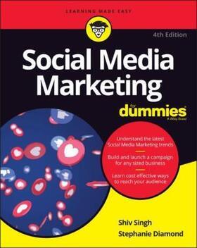 Singh / Diamond   Social Media Marketing For Dummies   Buch   sack.de