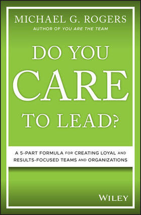Rogers | Do You Care to Lead? | Buch | sack.de