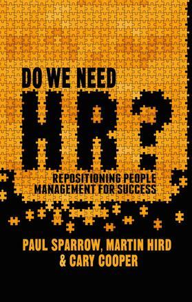 Sparrow / Cooper / Hird | Do We Need HR? | Buch | sack.de
