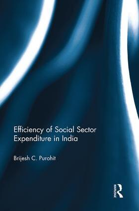 Purohit | Efficiency of Social Sector Expenditure in India | Buch | sack.de