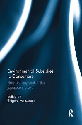 Matsumoto | Environmental Subsidies to Consumers | Buch | sack.de