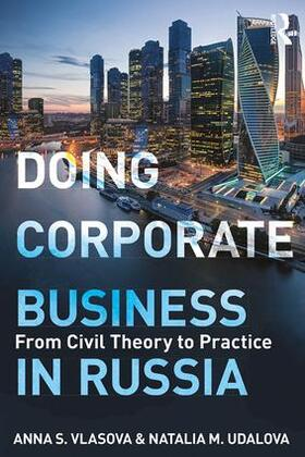Vlasova / Udalova   Doing Corporate Business in Russia   Buch   sack.de
