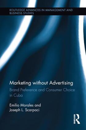 Morales / Scarpaci | Marketing without Advertising | Buch | sack.de