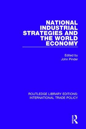 Pinder | National Industrial Strategies and the World Economy | Buch | sack.de