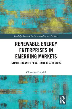 Gabriel | Renewable Energy Enterprises in Emerging Markets | Buch | sack.de
