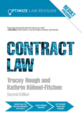 Kuhnel-Fitchen / Hough | Optimize Contract Law | Buch | sack.de