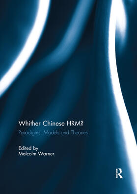 Warner | Whither Chinese HRM? | Buch | sack.de