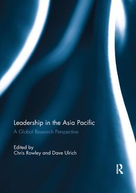 Rowley / Ulrich   Leadership in the Asia Pacific   Buch   sack.de
