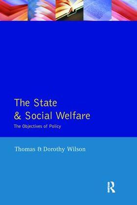 Wilson | State and Social Welfare, The | Buch | sack.de
